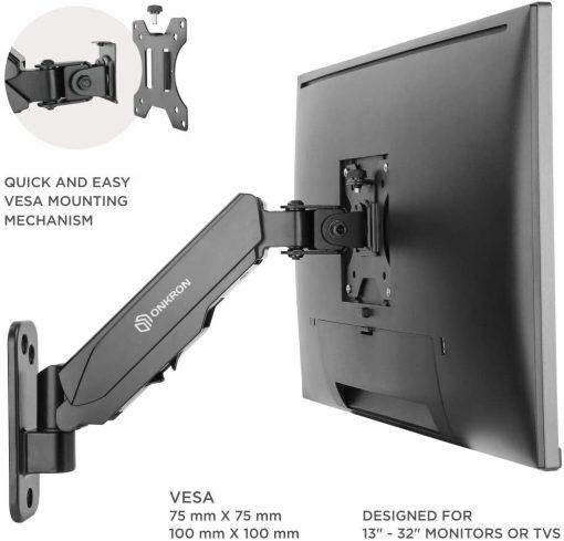 Installation de la plaque VESA