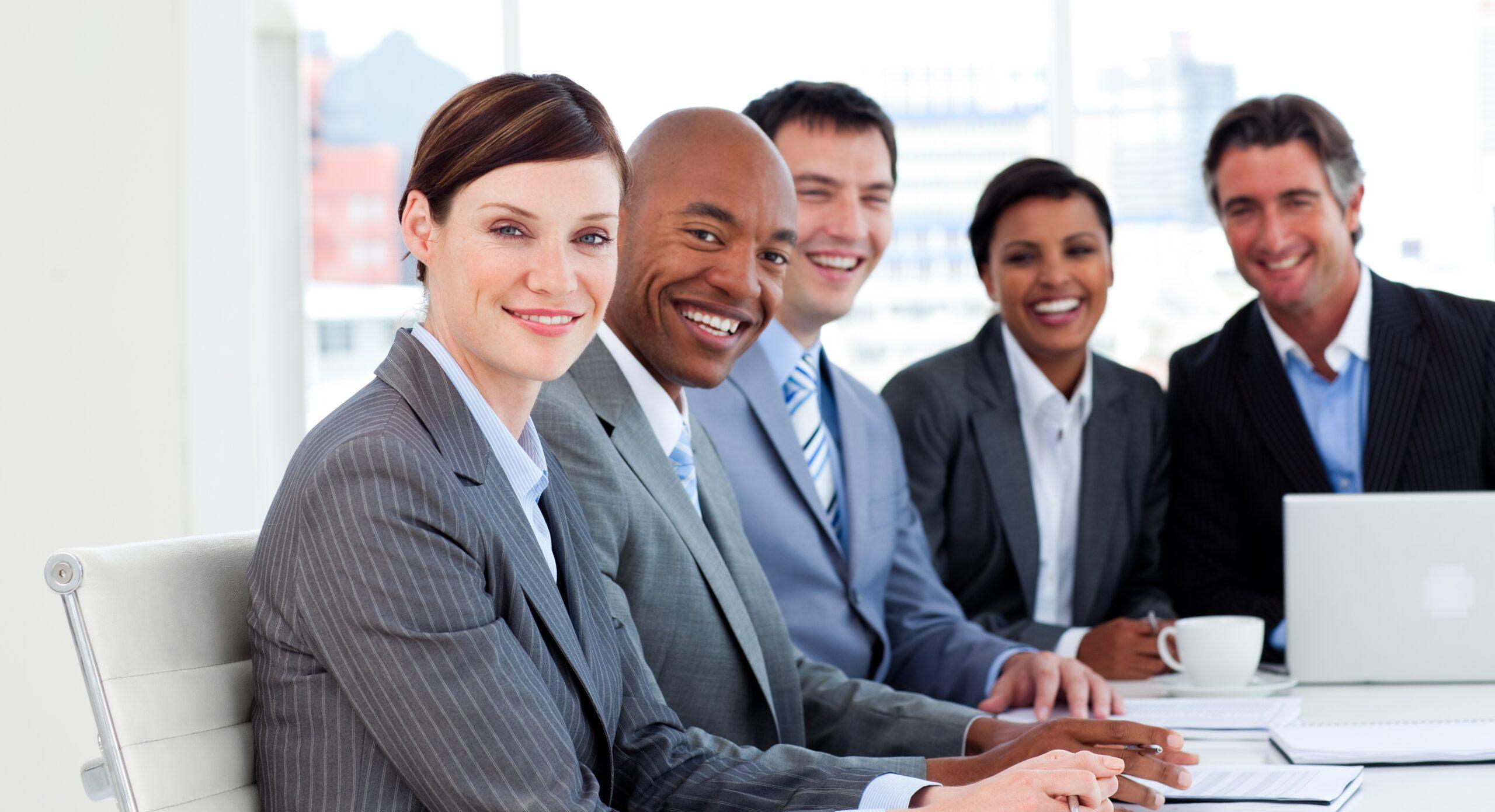 Business meeting Englisch