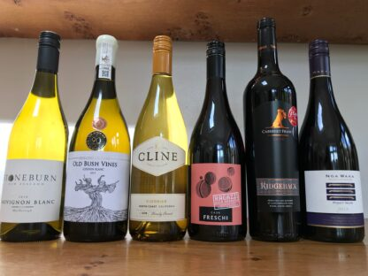Image of 'Brave New World' mixed case of new world wines