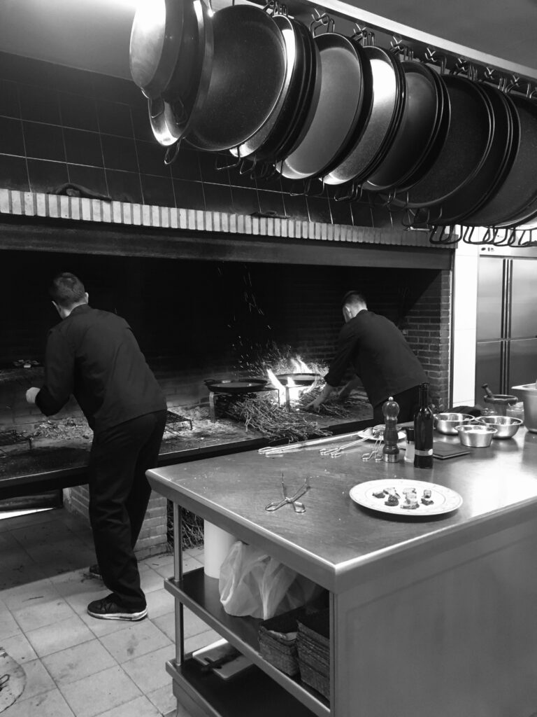 Bristol restaurant kitchen
