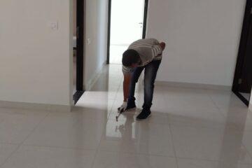 Hollow tiles inspection