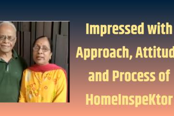 HomeInspeKtor Testimonial Mrs & Mr Gadagkar MAHINDRA WINDCHIMES