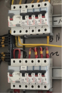 Home inspection electrical check