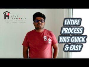 HomeInspeKtor Testimonial Sudhakar Shriram Greenfield