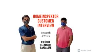 Prasanth - Customer Interview - Prestige Augusta Golf VIllage