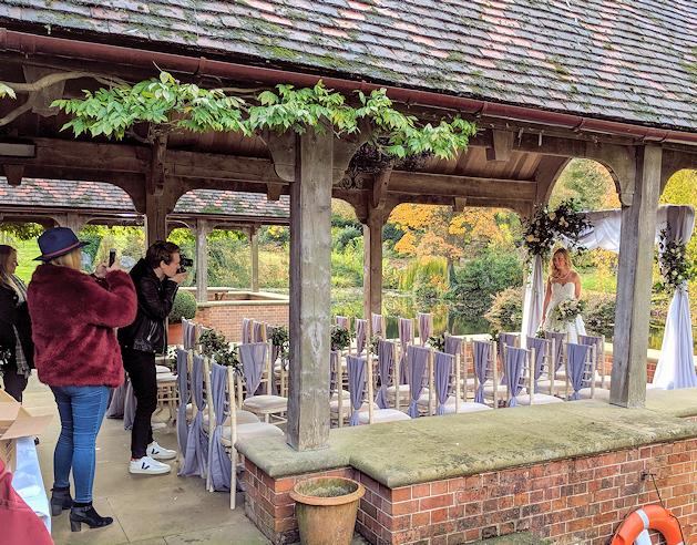The Dairy, Waddesdon, Wedding Flower Photo Shoot.