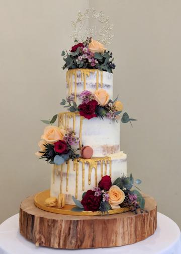 Flowers for Wedding Cake.