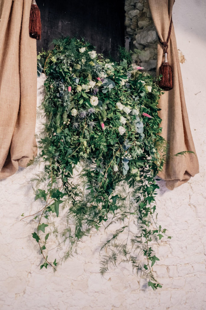 Windowsill Floral Design.