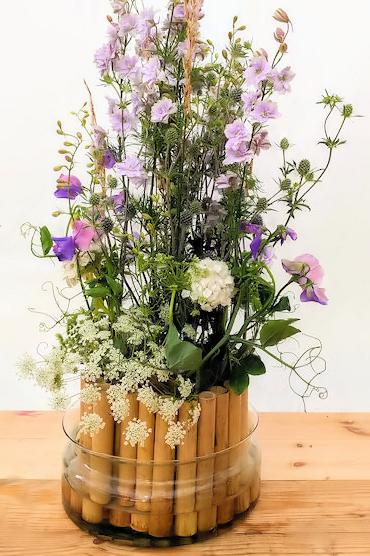 British flowers floral design.