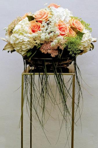 Arrangement on Pedestal by florry.