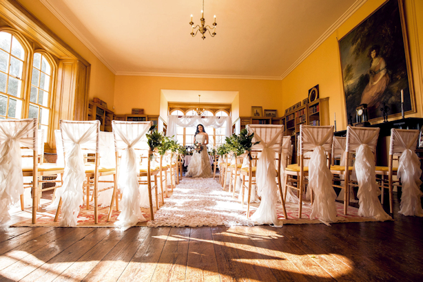 The Library at Delapre Abbey