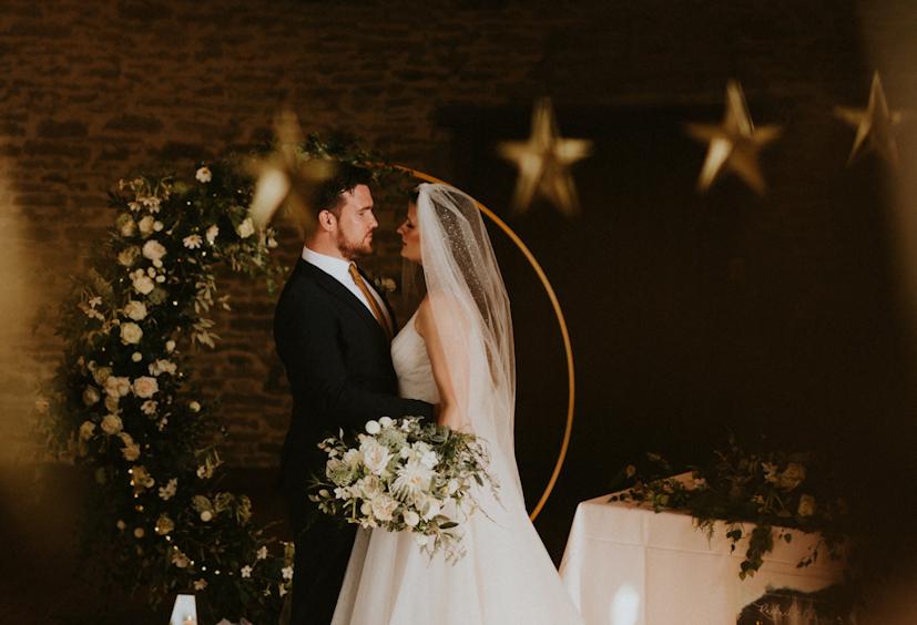 celestial wedding theme