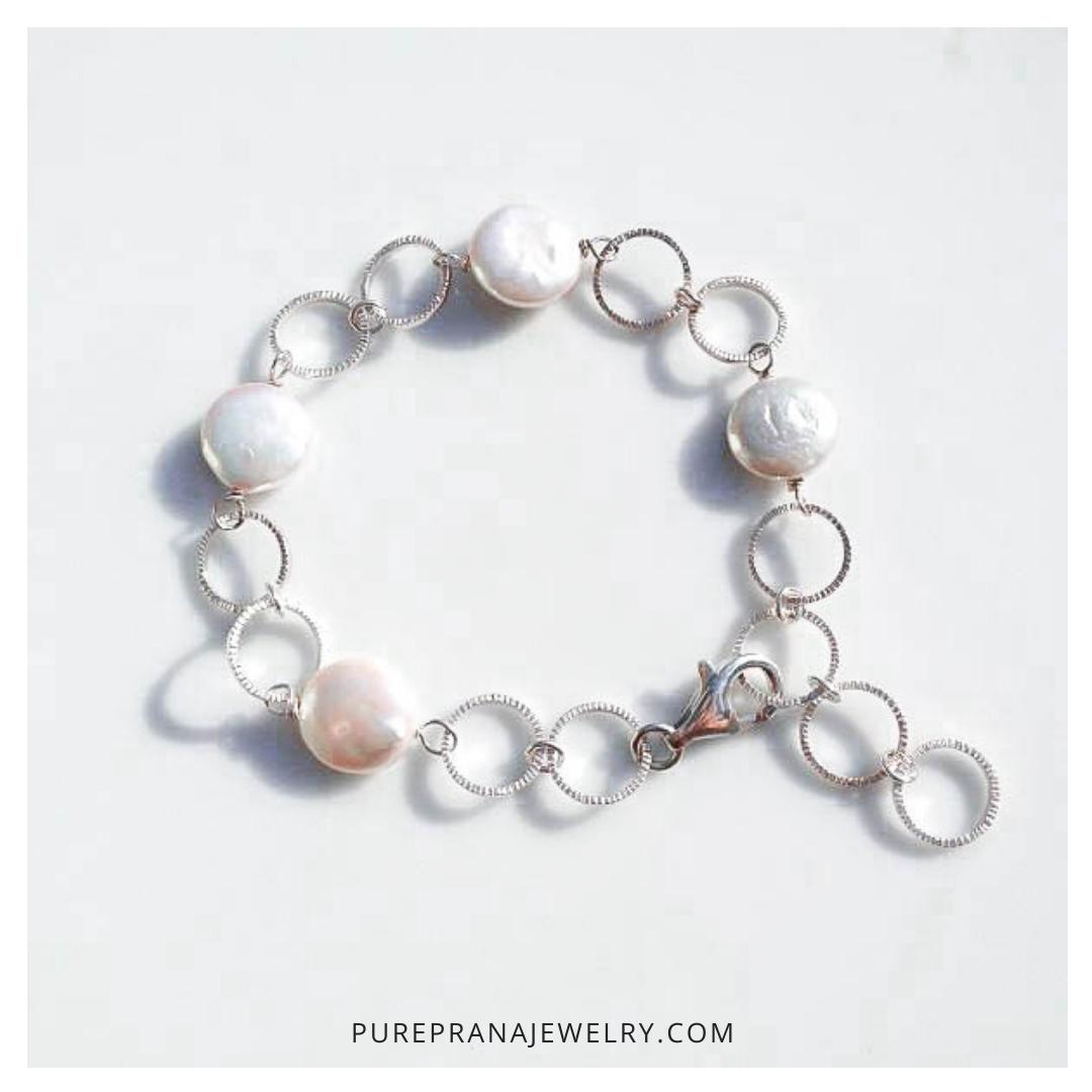 Portfolio_Instagram_Pure Prana Jewelry_Bracelet Pearls Silver