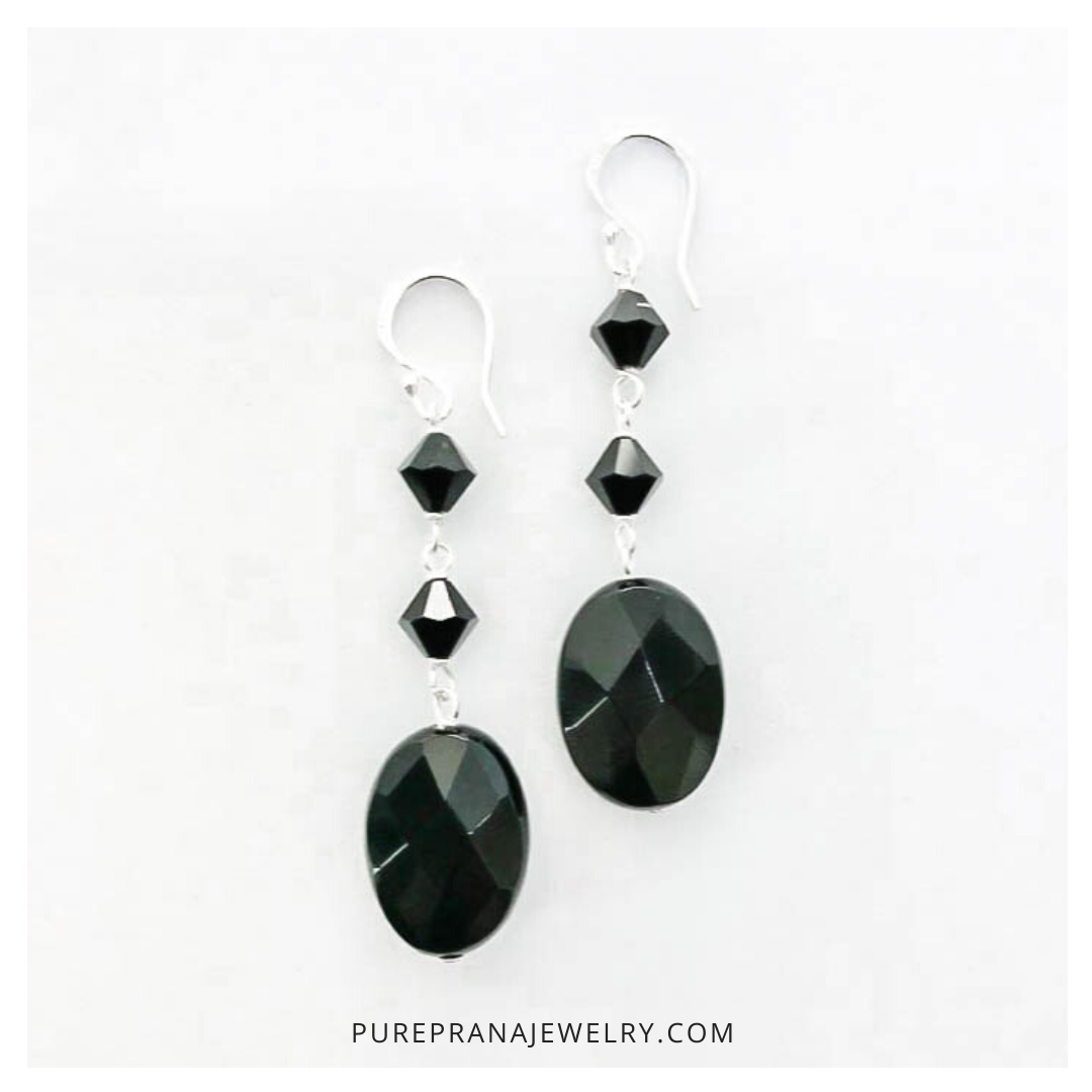 Portfolio_Instagram_Pure Prana Jewelry_Earrings Onyx