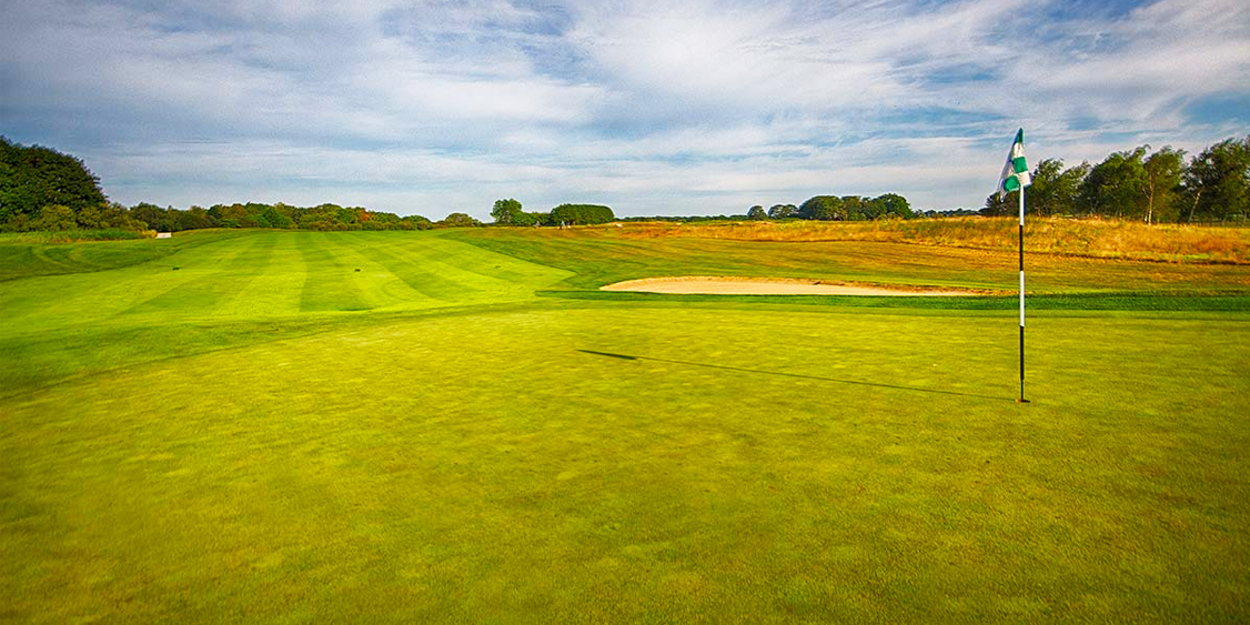 The Green Of One Of The Holes At Golf Vacation Destination Newport National Golf Club In Middletown, RI