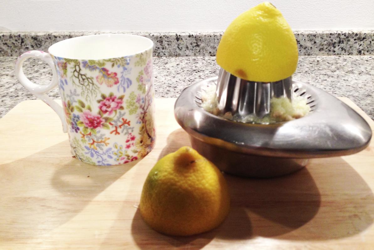 warm lemon morning routine