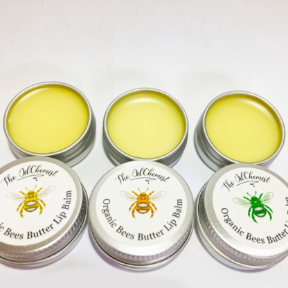 Organic Bee Butter Lip Balm with Essential Oils