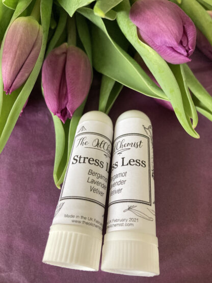 stress less inhaler essential oils