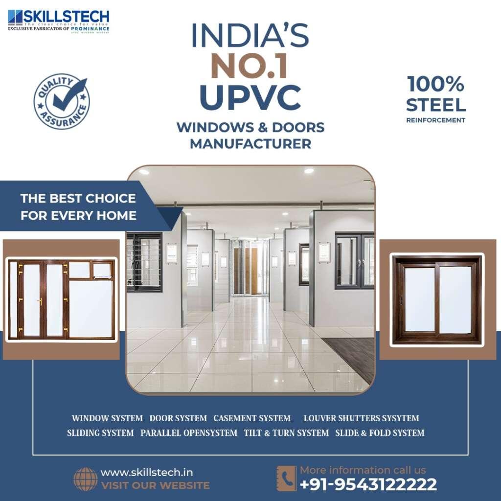 uPVC Windows -SkillsTech Building Solutions Coimbatore, How to choose Best Exterior Door Trim