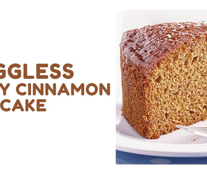 Eggless Honey Cinnamon Cake