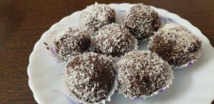 Coconut Chocolate Truffles
