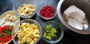Fruit crfeam Ingredients