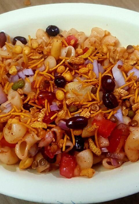 Macaroni Chaat Recipe