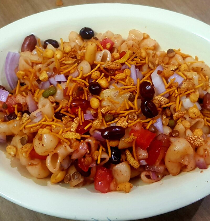 Macaroni Chaat Recipe