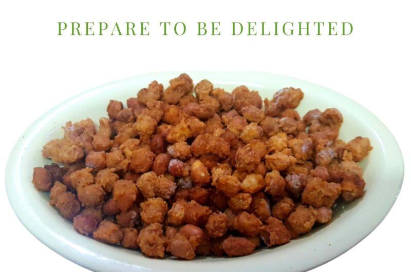 Roasted Besan Peanuts | Haldiram Style Masala Peanut Recipe