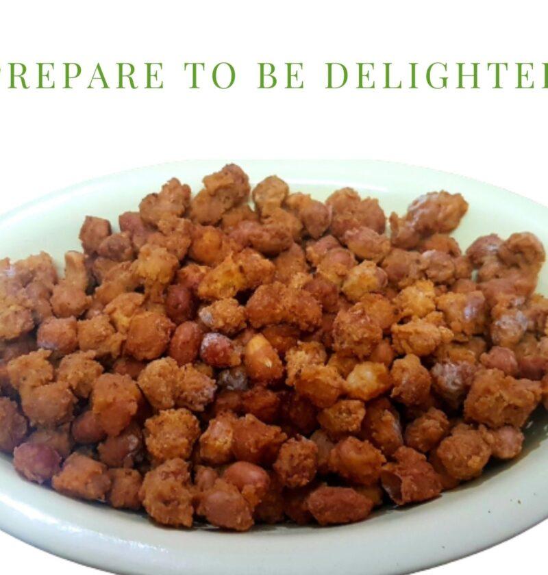 Besan Masala Peanut Recipe