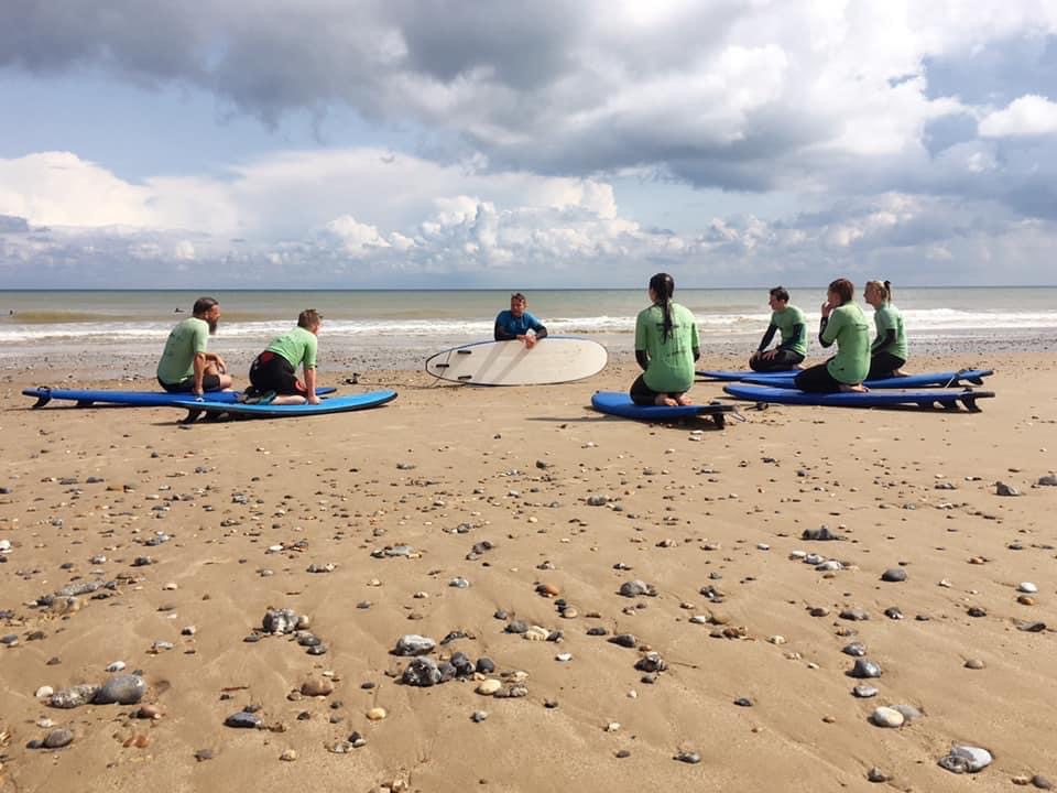 surfing lessons mundesley