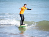 Surf Kids - Learning to surf in Cromer