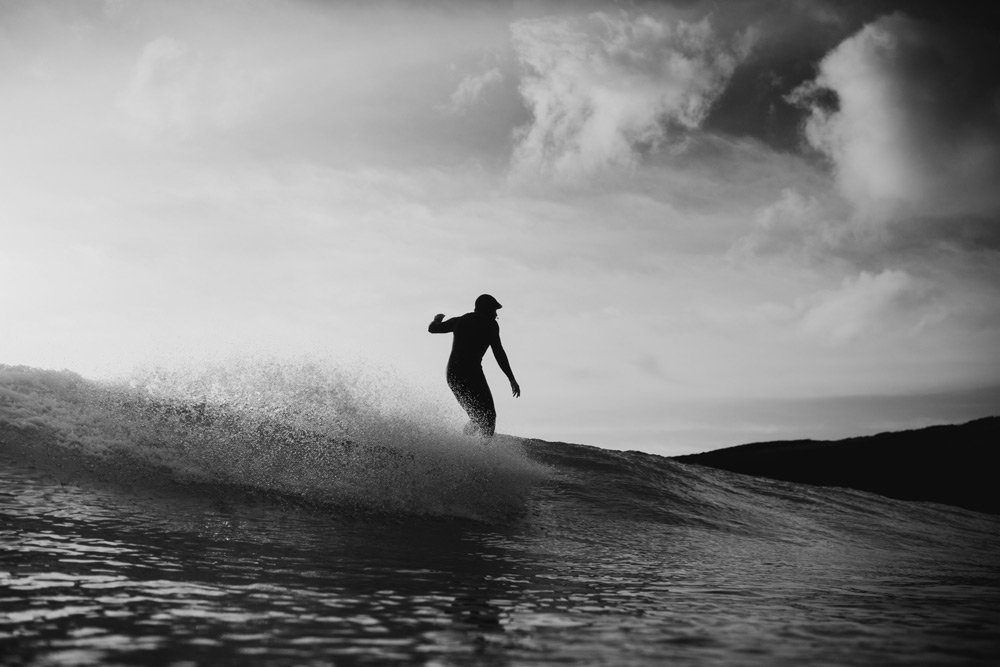 Surfing St Ives Cornwall