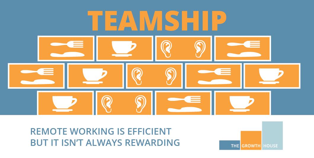 Remote working is efficient but isn't always rewarding