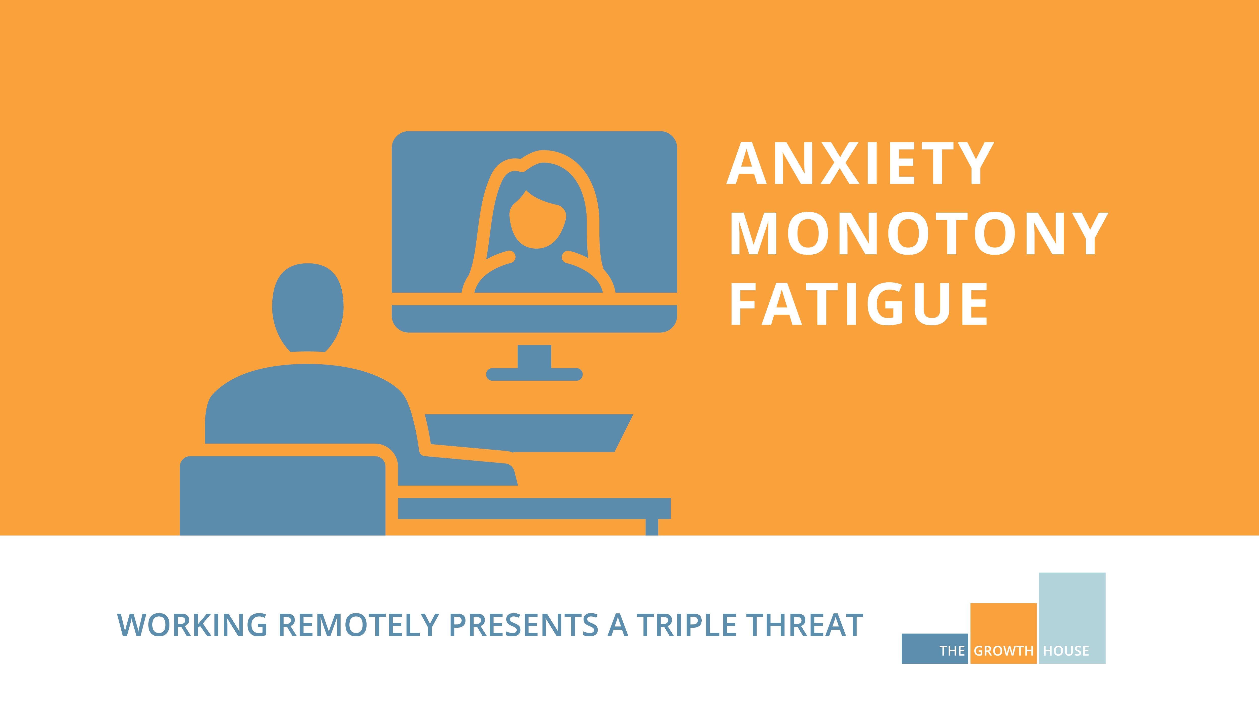Anxiety Monotony Fatigue