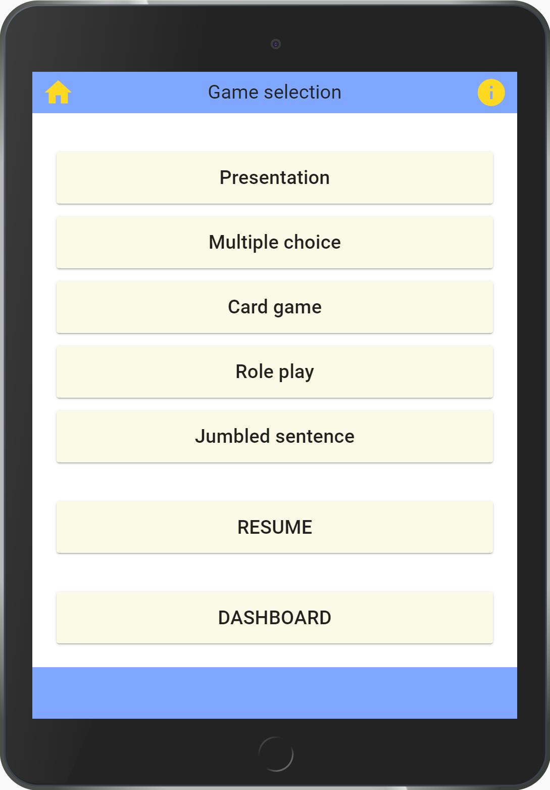 Super Lingo game_website 1