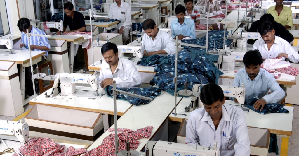 Stitching - Woven and Knit Apparel Manufacturer