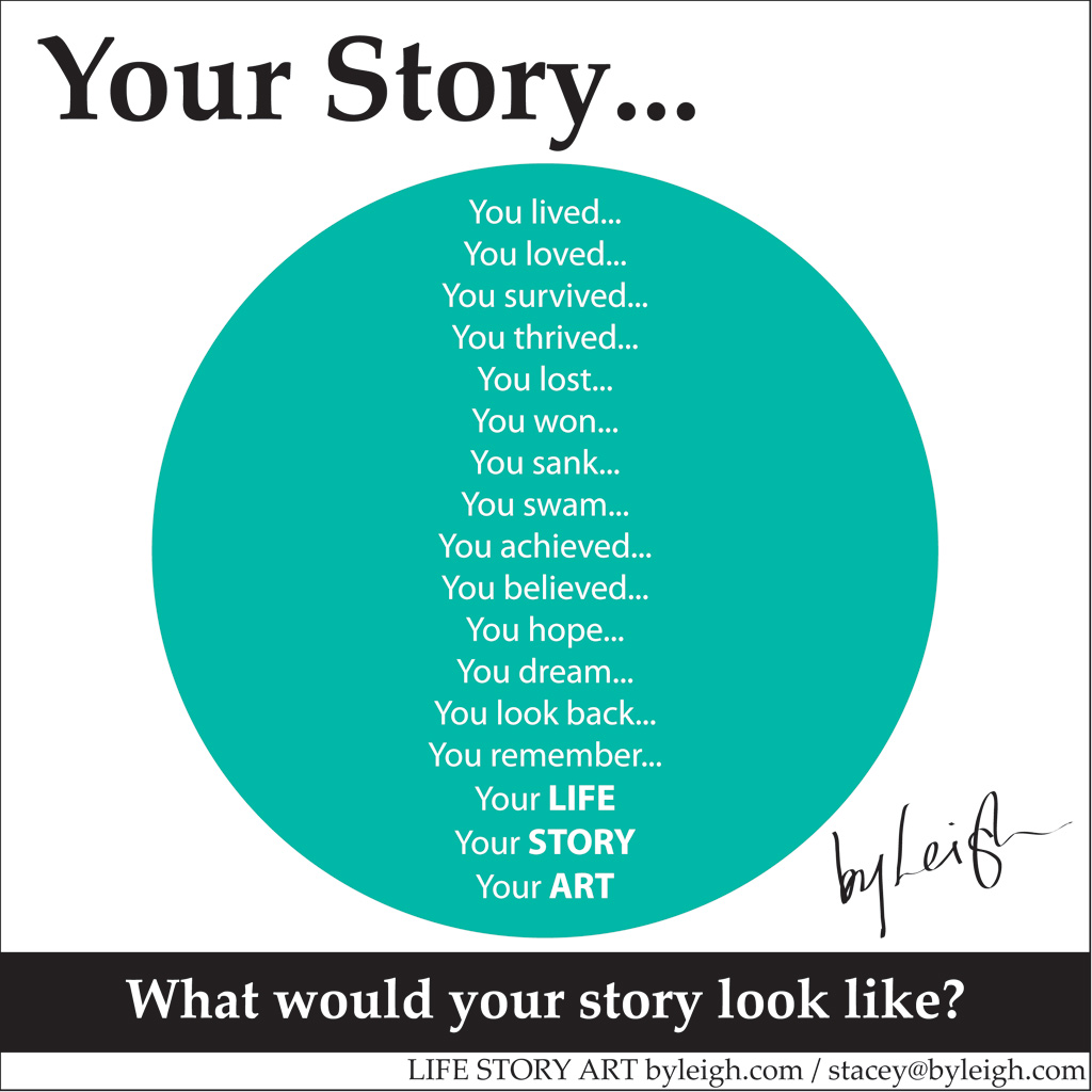 Advertisement for Life Story Art
