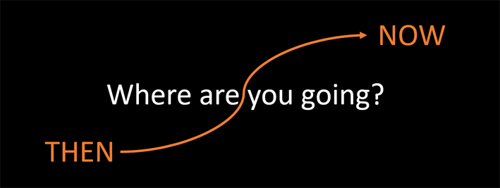 """Where are you going"" graphic"