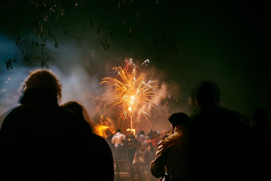 Stanley Events fireworks