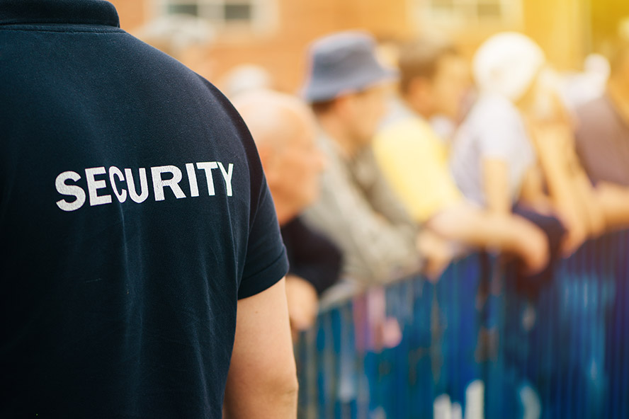 Stanley Events people - event security