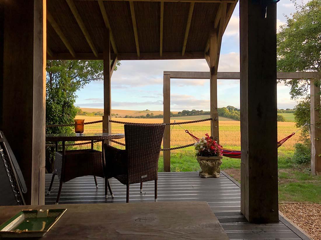 lodge veranda