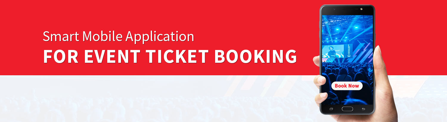Smart Mobile application for Event Ticket booking & Check in: