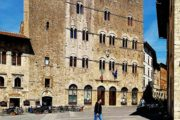 Seaside and Volterra Motorcycle Tour - Massa Marittima main square