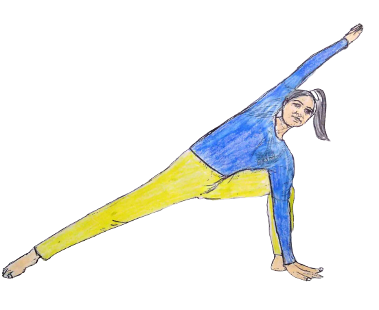 Top 10 Excellent Health Benefits Of Utthita Parsvakonasana (Extended Sides Angle Pose)