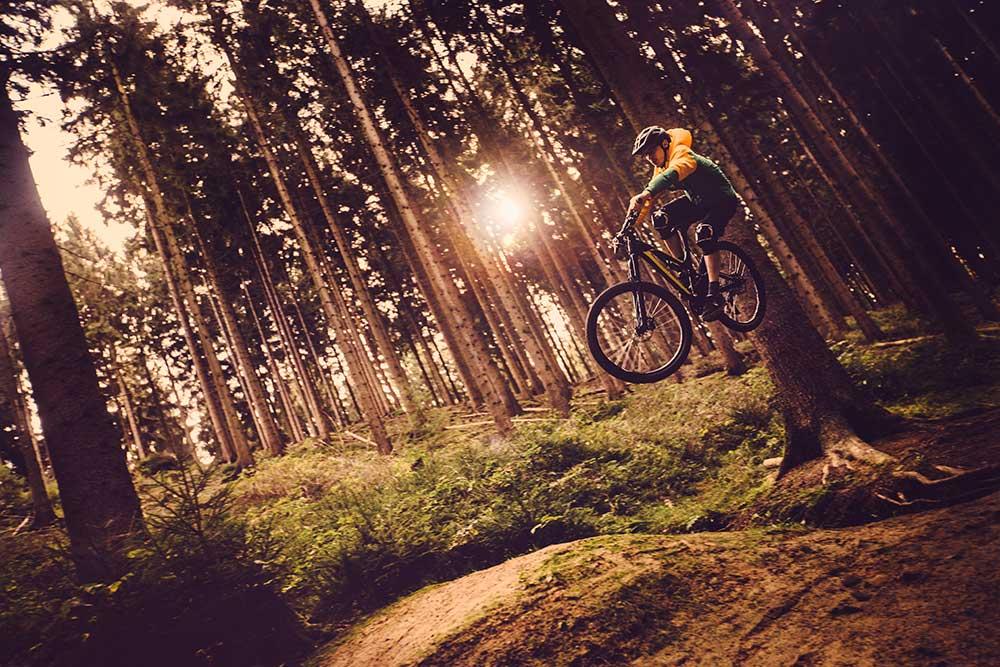 Woodland Mountain Biking