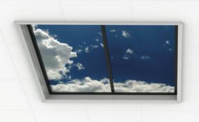 Luminous sky ceiling