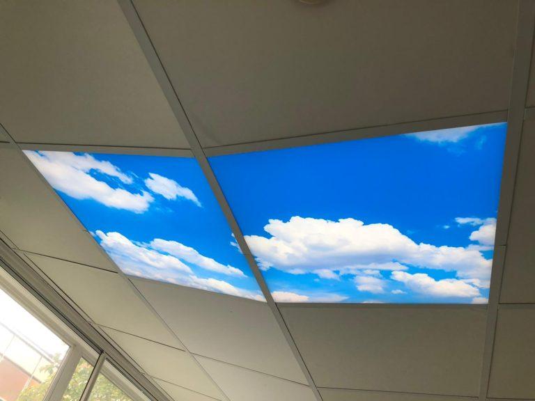 Fake skylight