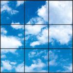 Clouds ceiling design