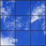 Wispy clouds ceiling design